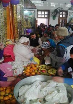 sunder das ji maharaj grand pilgrims on arrival inundation