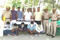 haryana sonipat accused pistol weapons police
