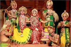 virtual ramlila in ayodhya lord rama s costumes from nepal