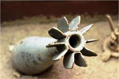 3 live mortar shell found in ram darbar vegetable market ground in chandigarh