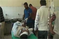 mahendragarh  danger  accident  injury