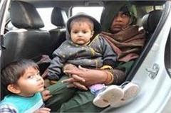 haryana  jind  hostage case in the car  police