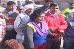 haryana  panipat  sarpanch  resignation