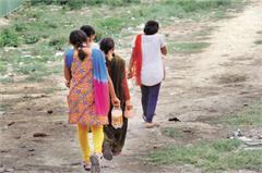 in panchkula villages toilet in open