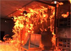 came under fire in the restaurant 25 million items were burnt to ashes