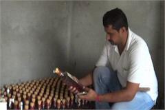 haryana fake english wine accused