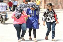 bethasa heat in 5 districts of the state including lucknow declared charenj alrtj