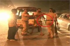 haryana street high voltage police