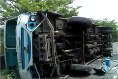 haryana bus brake failure accident