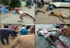 district panchayat member sp vandalizing public advocates and women ran dudhakr beaten