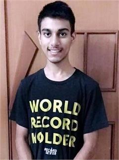 bilaspur swastik garg world record