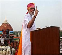lucknow narendra modi red fort