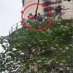 haryana wife tank threatening shahabad