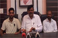 yamunanagar legislator accused historically capital