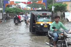 sonipat rain waterlogging administration sewerage