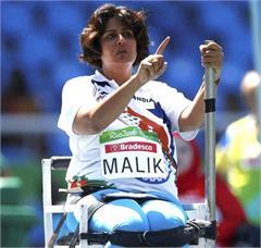 deepa malik rio paralympic athlete arjuna award tumors