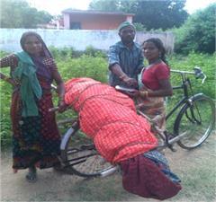 ambulance bicycles deadbody
