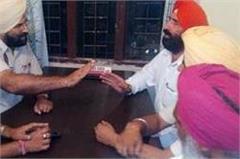 congress leader held police post on hunger strike