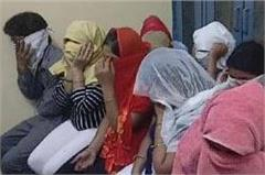 faridabad sex racket boys girls arrested