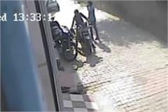 day tread bike steals cctv captured