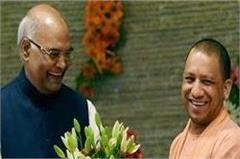cm yogi congratulates president kovind on his birthday
