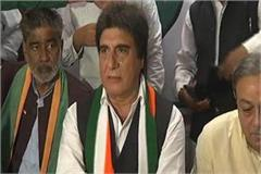 mahant or the chief minister can not decide on its own  raj babbar