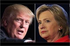 trump dares hillary clinton to run in 2020 presidential polls