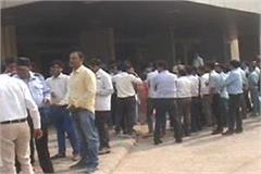 45 employees of esi medical college and hospital out of work