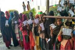 up body elections voting stopped for polling booths of municipal councils