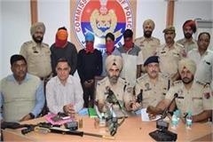 four members of supari killer gang arrested