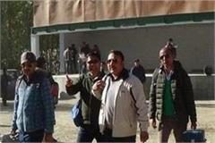 kullu polling booth on 18km by foot duty will reach staff