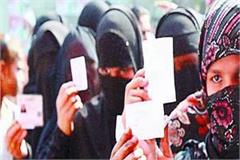 feminist voters caught in sonbhad after muslim women
