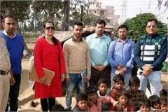 raids conducted against child beggar