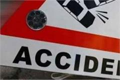tractor collide with bus