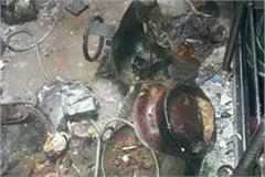 lpg cylinder blast as soon as the house collapsed dozens injured