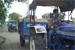 toll on tractor
