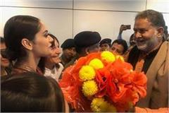 miss world manushi chillar welcomed by haryana government