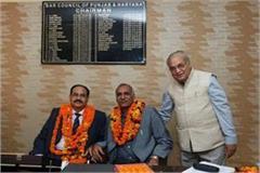 punjab and haryana bar council chairman dr vijender singh ahlawat