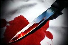 kaliyugi son  s deed  attack on mother with knife