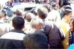 painful incident in shimla  death of old man during to walking