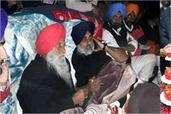 sukhbir badal protest against congress