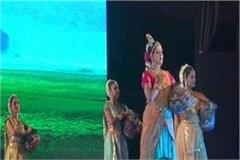 hema malini dance in international gita mahotsav