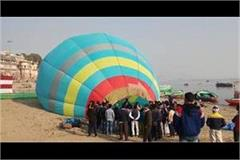 visitors will now see kashi s eighty ghat from the sky know how