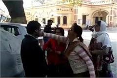 anganwadi workers beating boy