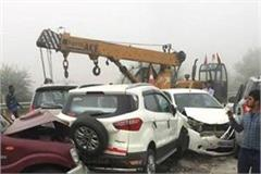 many carts on the yamuna expressway the death of australian citizen