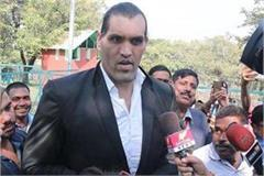 great khali statement on big boss