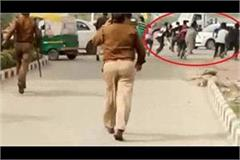police lathicharge on people protesting against salman khan