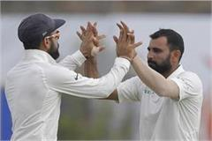 mohammed shami gives a reply to mathews on smog