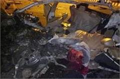 goraya terrible road accident three people died on the spot