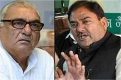 on reservations in the party met hooda and chautala